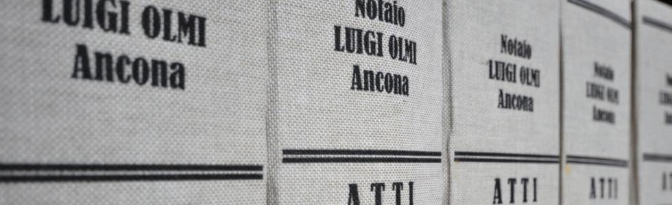 notaio ancona: testi del notaio olmi
